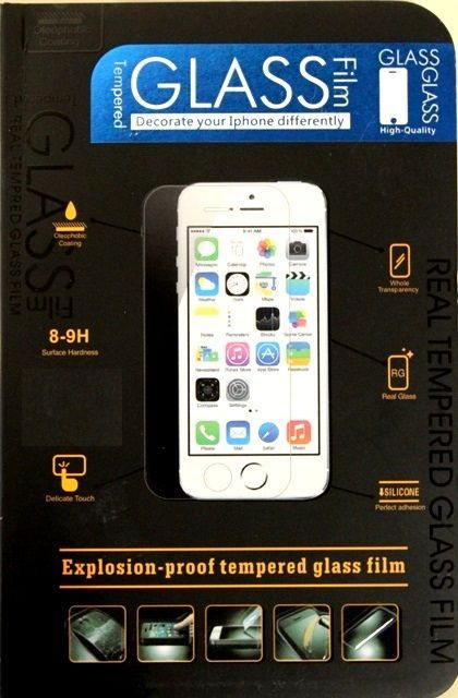 �������� ������ Tempered Glass 0.25 mm ��� iPhone 5/5S/5C. ���: �������� ������ (�������� ������ ��� iPhone 5/5S)